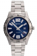 Sekonda 3253 Gents Quartz Analogue Date Stainless Steel 50m Watch